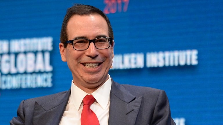 Steve Mnuchin applauds Computerized Trading for this week's market growth